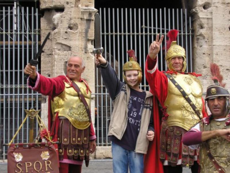 Joost naar zijn droomstad Rome