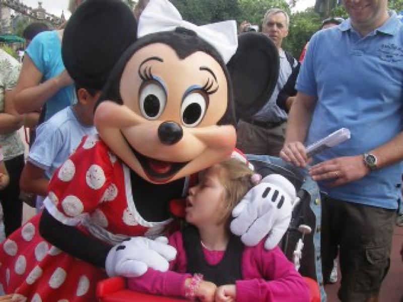 Lotte naar Euro Disney