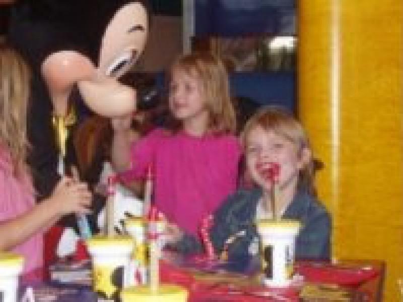 Jeremy vindt Disneyland prachtig