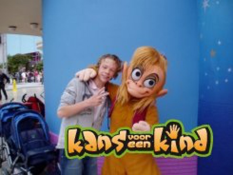 Mitchell heeft genoten in Eurodisney