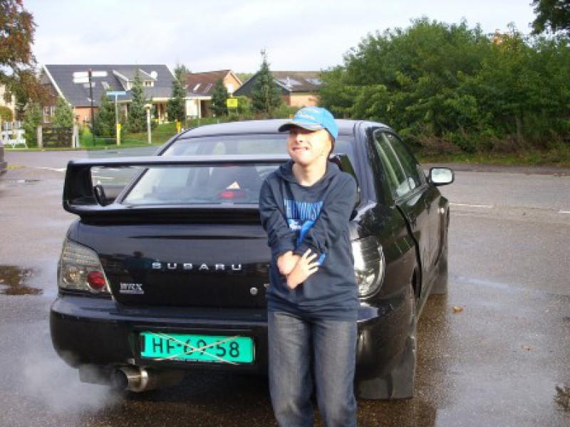 Jordy in zijn droomauto