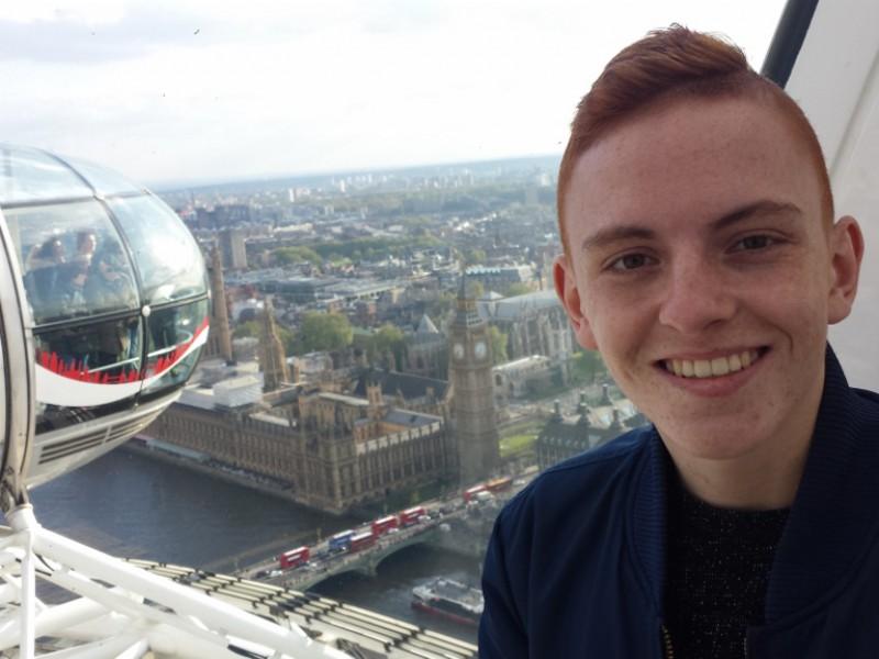 Nick als VIP in Londen en bij Chelsea