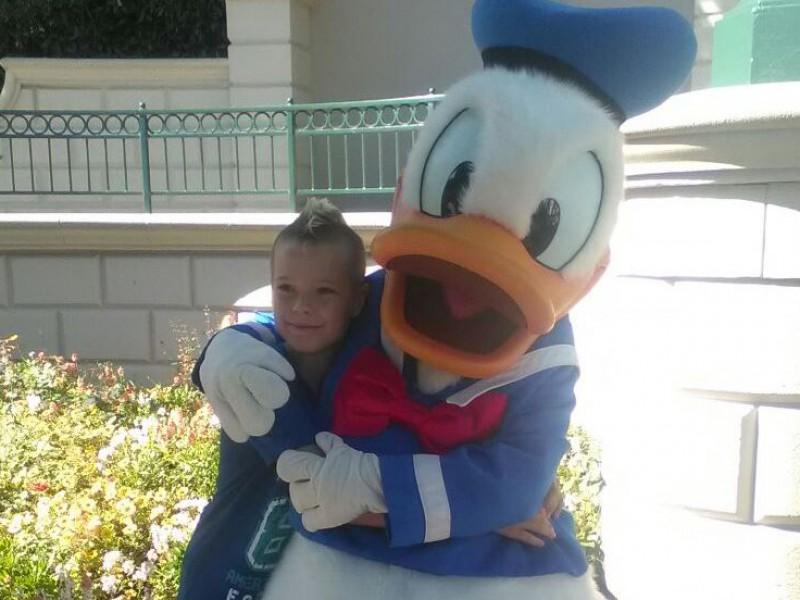 Disneyland: een feest voor Conner