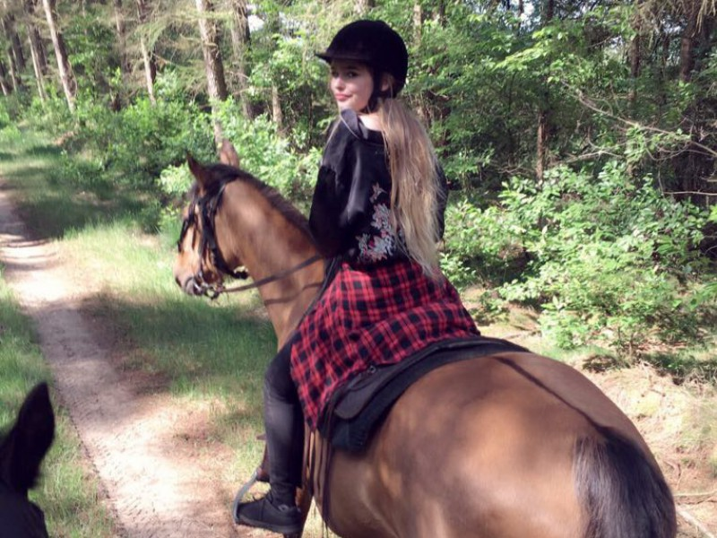 Manja: paardrijden in de natuur
