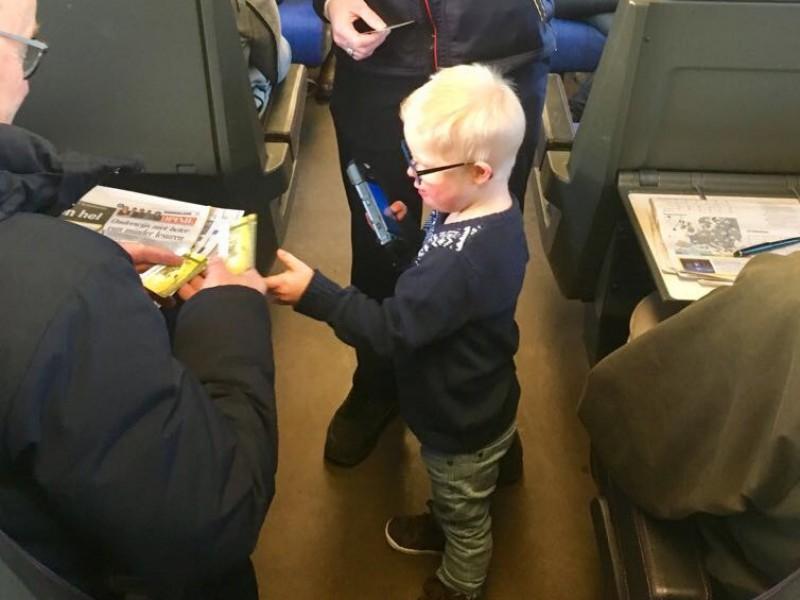 Jaspers fantastische treinendag