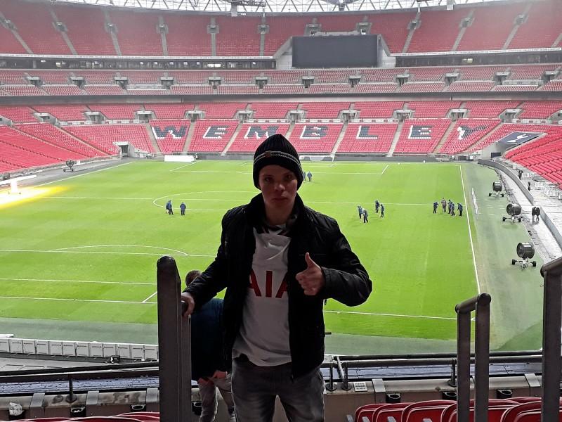 Ivars bezoek aan Tottenham Hotspur
