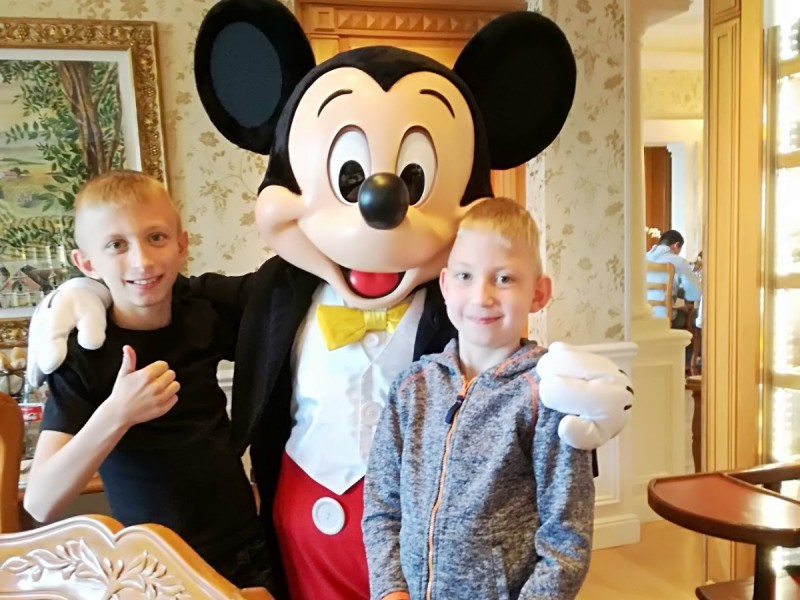 Ians droomt: Disneyland Parijs