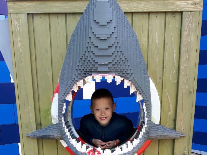 Stein gaat los in Legoland