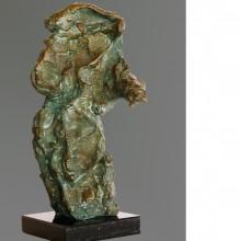 Bronzen beeld 'Senator' van Bert Nijenhuis, 22 centimeter hoog