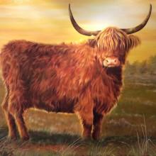 Schilderij 'Inspired by Nature' van Jenneke Brunnekreeft