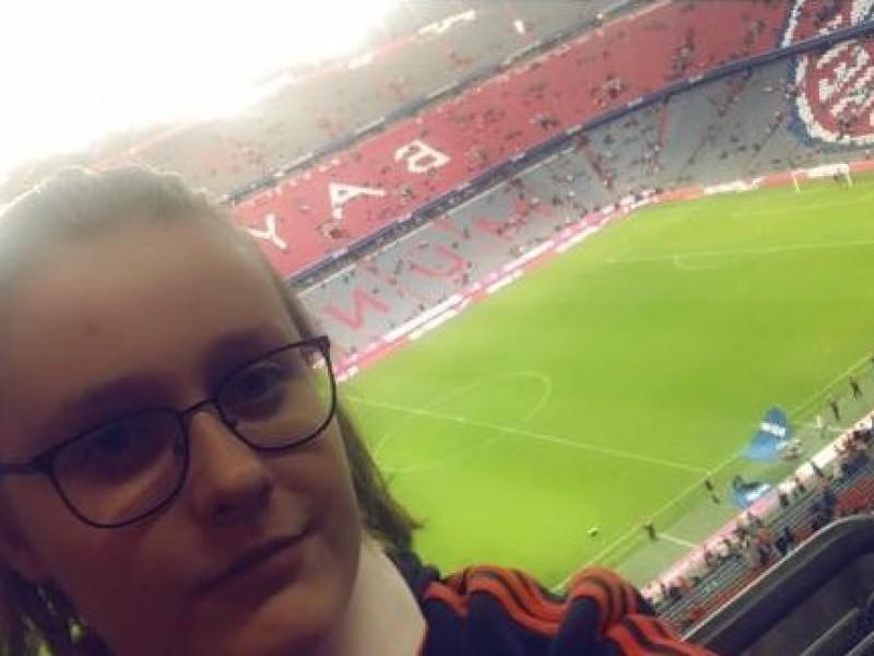 De voetbaldroom van Daniëlle komt uit